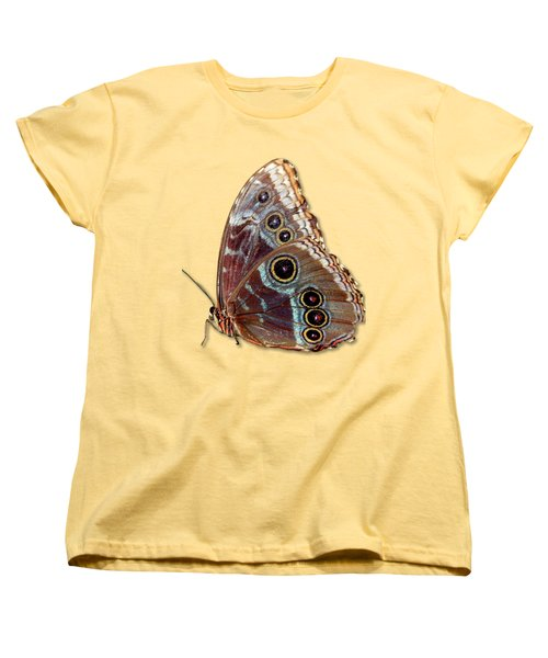 Butterfly Macro Women's T-Shirt (Standard Cut) by Bob Slitzan