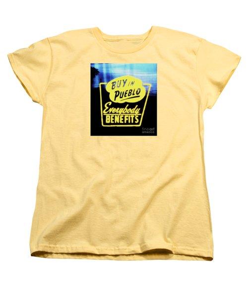 Buy In Pueblo Women's T-Shirt (Standard Cut)