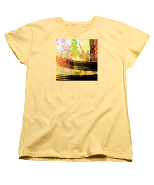 C D Art Women's T-Shirt (Standard Cut) by Bob Pardue