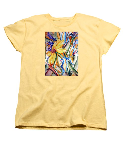 California Wildflowers Series I Women's T-Shirt (Standard Cut) by Lil Taylor