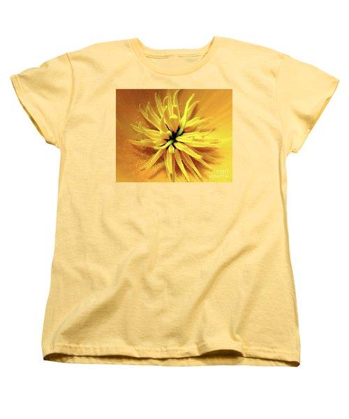 Californian Poppy Macro Women's T-Shirt (Standard Cut) by Baggieoldboy