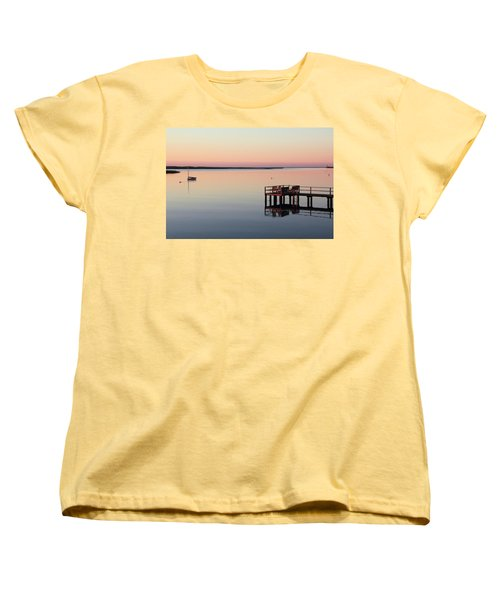 Calm Waters Women's T-Shirt (Standard Cut) by Roupen  Baker