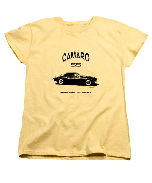 Camaro Ss V.2 Women's T-Shirt (Standard Cut) by Kim Gauge