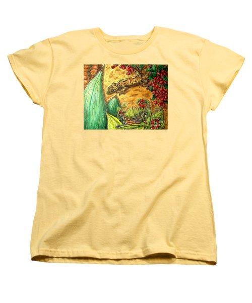 Camouflage...is It Working? Women's T-Shirt (Standard Cut) by Kim Jones