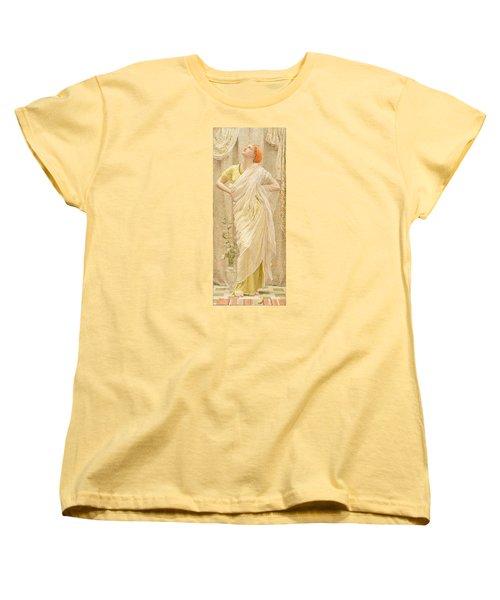 Canaries Women's T-Shirt (Standard Cut) by Albert Joseph Moore