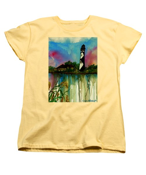 Cape Lookout Women's T-Shirt (Standard Cut) by Lil Taylor