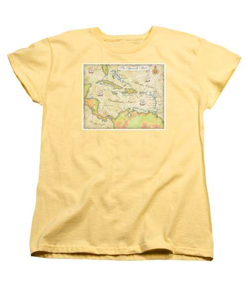 Caribbean Map - Good Women's T-Shirt (Standard Cut) by Sample