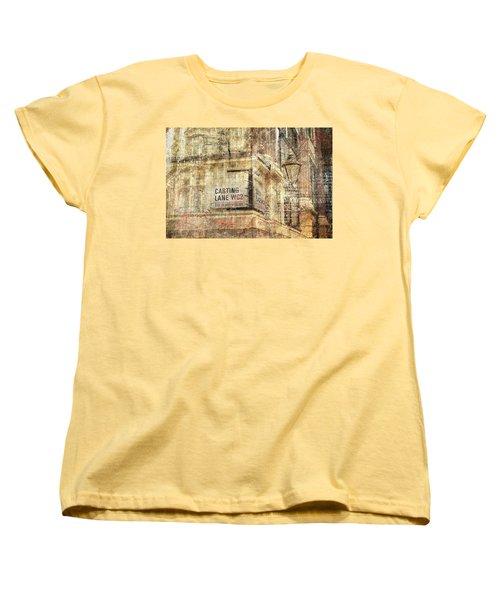 Carting Lane, Savoy Place Women's T-Shirt (Standard Cut) by Nicky Jameson