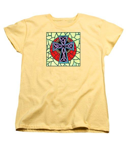 Celtic Cross Women's T-Shirt (Standard Cut) by Jim Harris