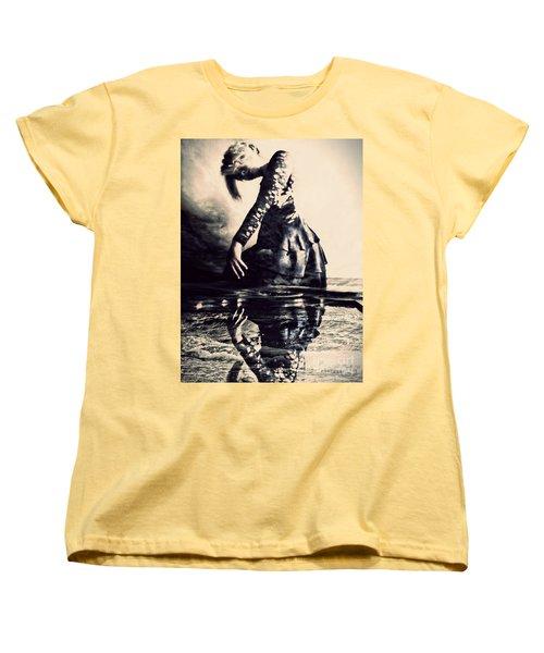 Cerebration Women's T-Shirt (Standard Cut) by Jessica Shelton
