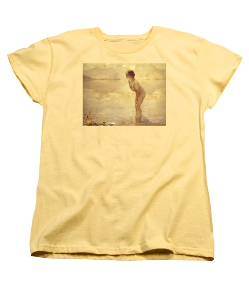Chabas: September Morn Women's T-Shirt (Standard Cut) by Granger
