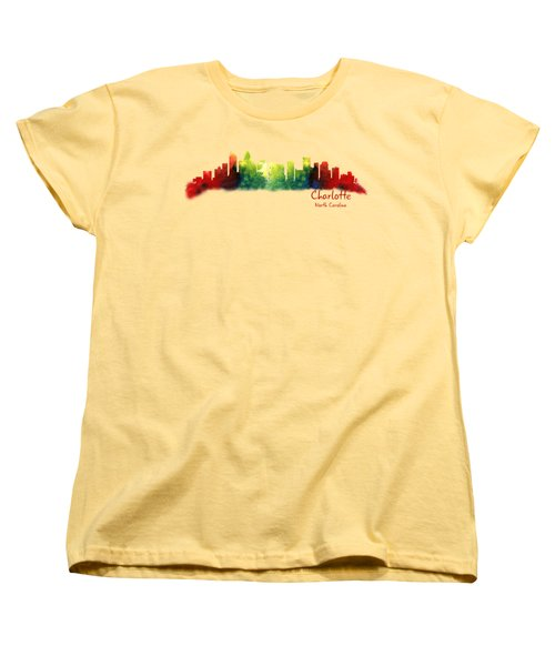 Charlotte North Carolina Tshirts And Accessories Women's T-Shirt (Standard Cut) by Loretta Luglio