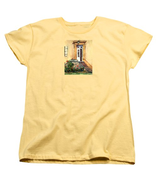 Chateau Le Pinacle Women's T-Shirt (Standard Cut) by Jill Musser