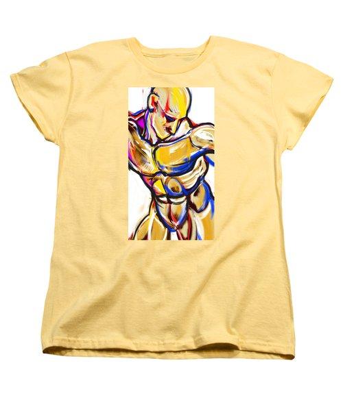 Chest Neck Study 2 Women's T-Shirt (Standard Cut) by John Jr Gholson