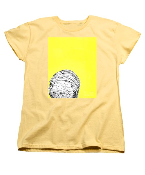 Women's T-Shirt (Standard Cut) featuring the painting Chickens Two by Jason Tricktop Matthews