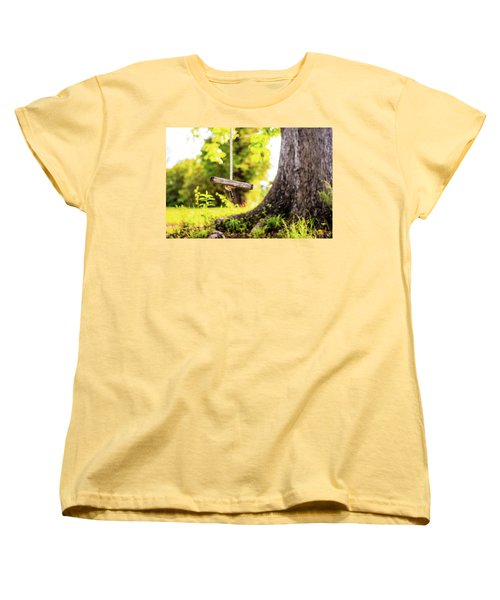 Women's T-Shirt (Standard Cut) featuring the photograph Childhood Memories by Shelby Young