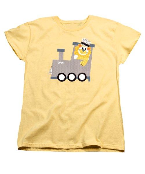 Choo Choo T-shirt Women's T-Shirt (Standard Cut) by Herb Strobino