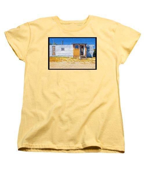 Women's T-Shirt (Standard Cut) featuring the photograph Classic Trailer by Susan Kinney