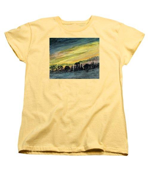 Clearing Storm Women's T-Shirt (Standard Cut) by R Kyllo