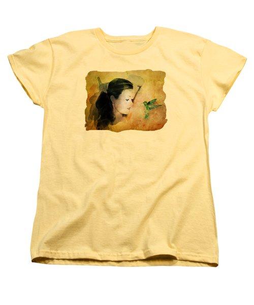 Close Encounter Women's T-Shirt (Standard Cut) by Terry Fleckney