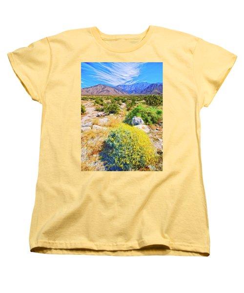 Coachella Spring Women's T-Shirt (Standard Cut) by Dominic Piperata