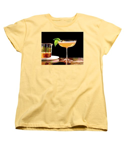 Cocktail And Dreams Women's T-Shirt (Standard Cut) by Charles Shoup