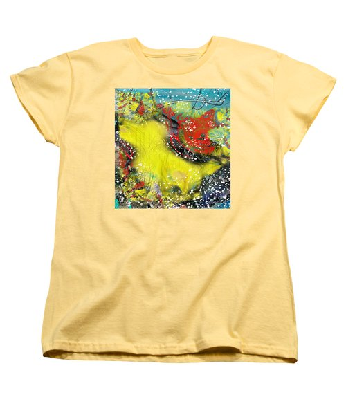 Let's Celebrate Women's T-Shirt (Standard Cut) by Yul Olaivar