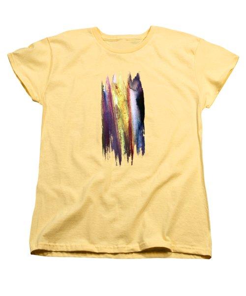 Colorfall Women's T-Shirt (Standard Cut) by AugenWerk Susann Serfezi