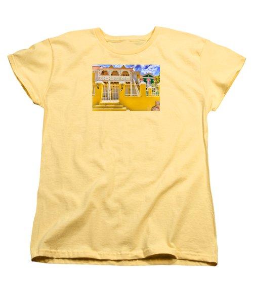 Colors Of Paradise Women's T-Shirt (Standard Cut) by Nadia Sanowar