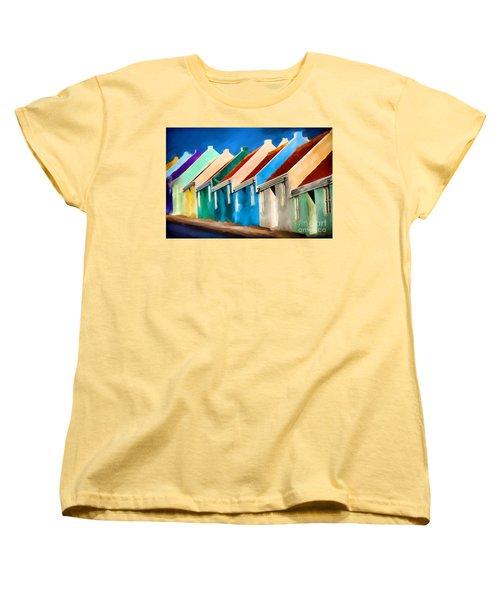 Coloured Women's T-Shirt (Standard Cut) by Jim  Hatch