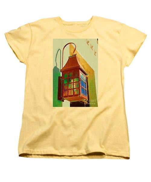 Copper Lantern Women's T-Shirt (Standard Cut) by Donna Bentley