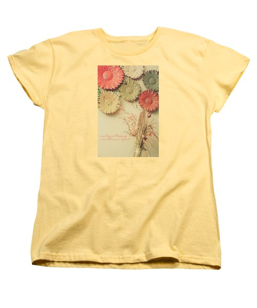 Count Your Blessings Women's T-Shirt (Standard Cut) by Bonnie Bruno