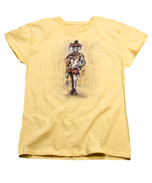 Court Jester Women's T-Shirt (Standard Cut) by Kevin Middleton
