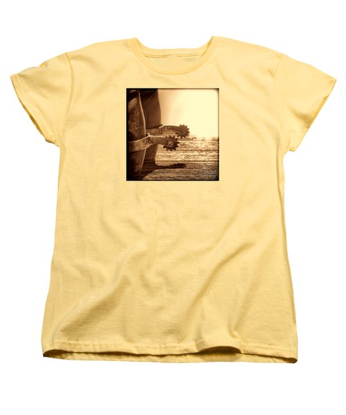 Cowboy Boots And Riding Spurs Women's T-Shirt (Standard Cut) by American West Legend By Olivier Le Queinec