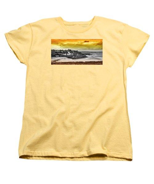 Crail Harbour Women's T-Shirt (Standard Cut) by Jeremy Lavender Photography