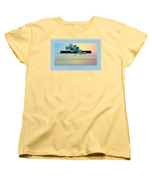 Creativity And Awareness In Yoga Women's T-Shirt (Standard Cut) by Felipe Adan Lerma