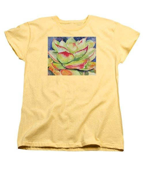 Crimison Queen Women's T-Shirt (Standard Cut) by Mary Haley-Rocks