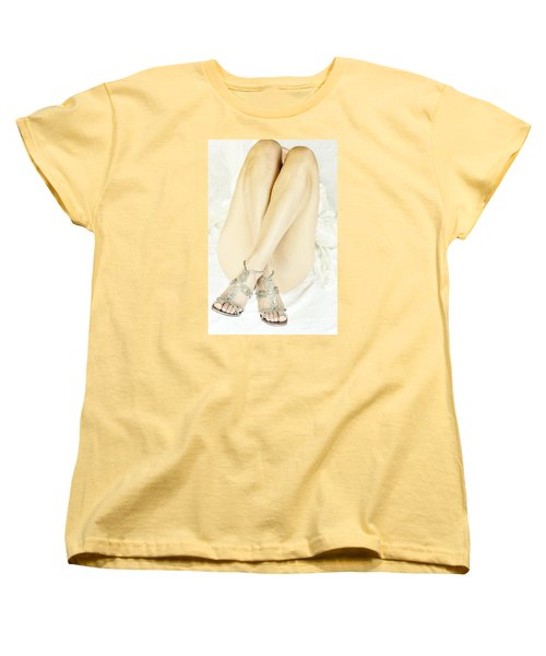 Women's T-Shirt (Standard Cut) featuring the photograph Crossed by Marat Essex