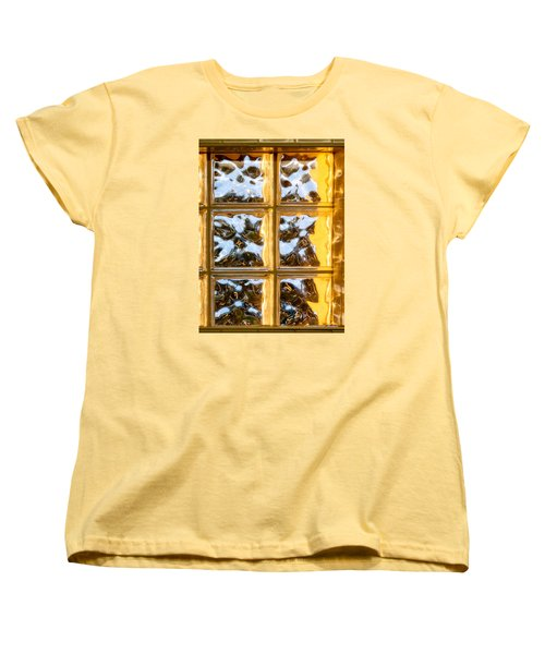 Women's T-Shirt (Standard Cut) featuring the photograph Cubed Sunset by Christopher Holmes