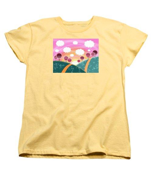 Cuteness Overload Women's T-Shirt (Standard Cut) by Shawna Rowe