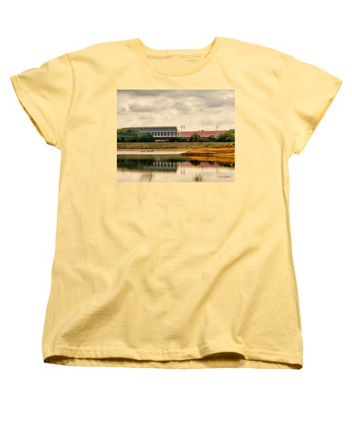 Women's T-Shirt (Standard Cut) featuring the photograph Dabo's First Game by Lynne Jenkins
