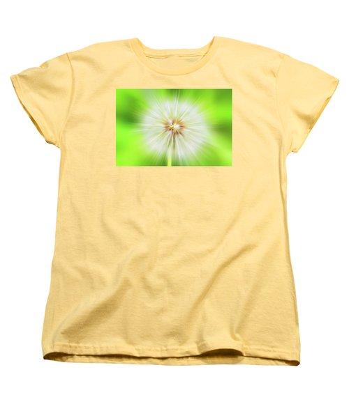 Dandelion Warp Women's T-Shirt (Standard Cut) by David Stasiak