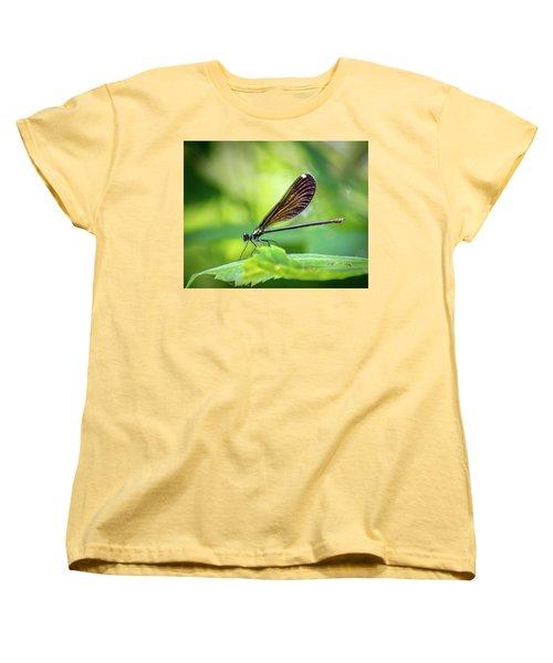 Women's T-Shirt (Standard Cut) featuring the photograph Dark Damsel by Bill Pevlor