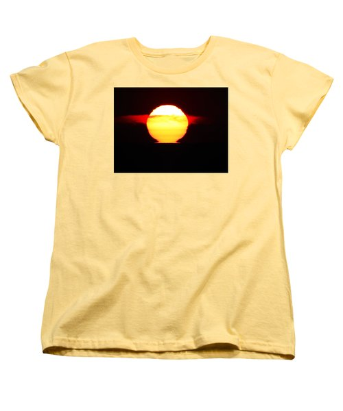Dark Sunrise Women's T-Shirt (Standard Cut) by Kathy Long