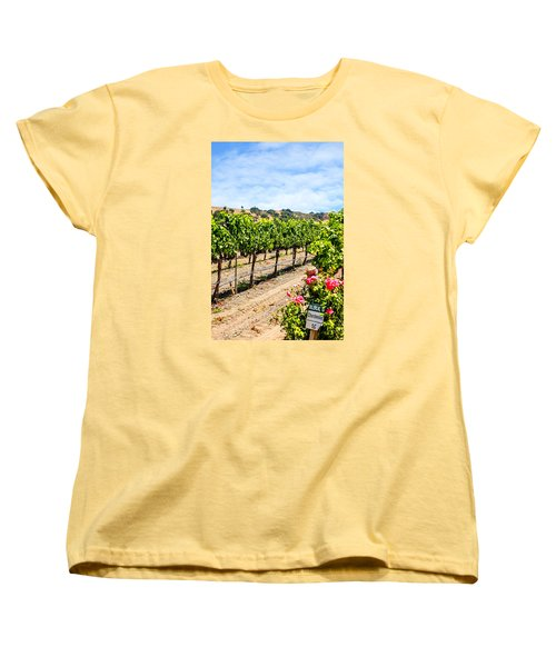 Days Of Vines And Roses Women's T-Shirt (Standard Cut) by Chris Smith