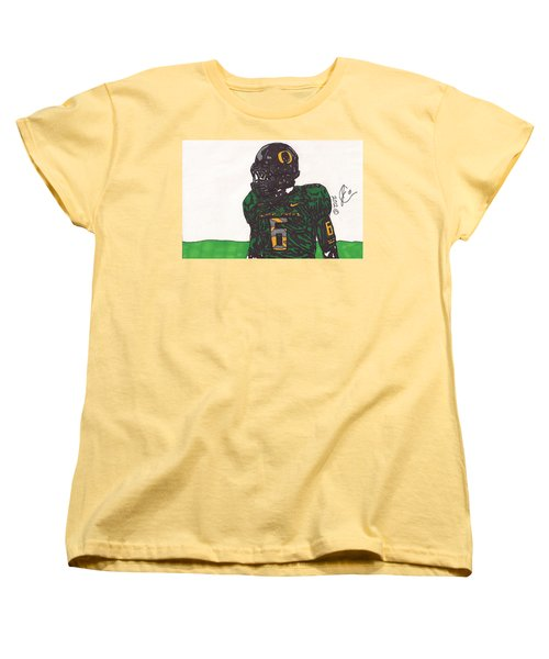 De'anthony Thomas 2 Women's T-Shirt (Standard Cut) by Jeremiah Colley