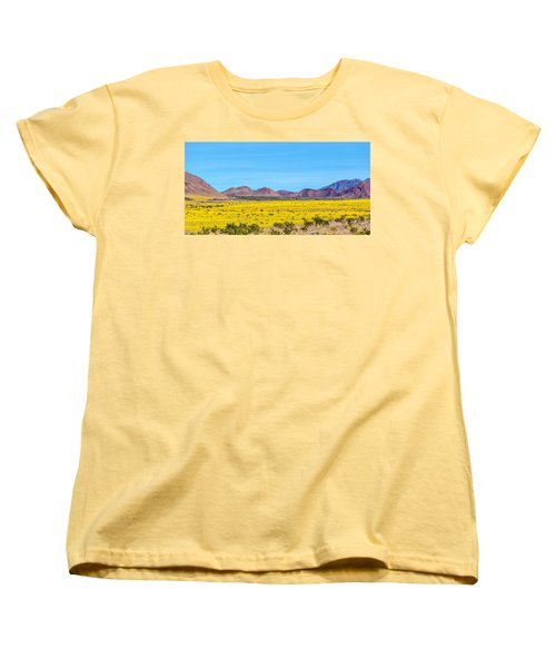 Death Valley Super Bloom 2016 Women's T-Shirt (Standard Cut) by Peter Tellone