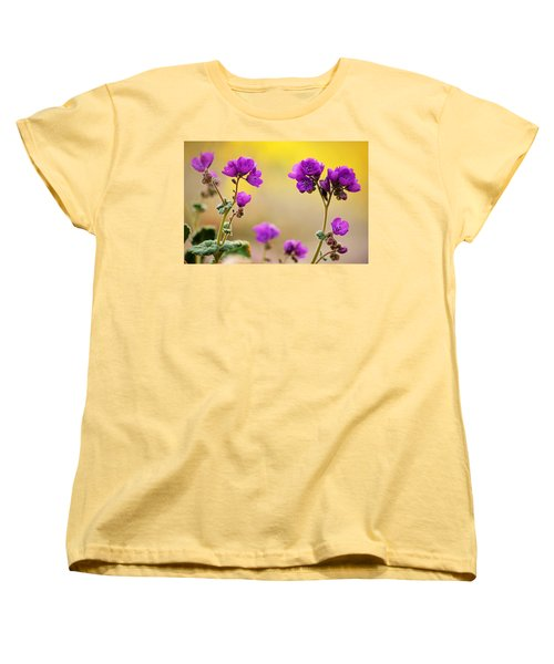 Death Valley Superbloom 506 Women's T-Shirt (Standard Cut) by Daniel Woodrum