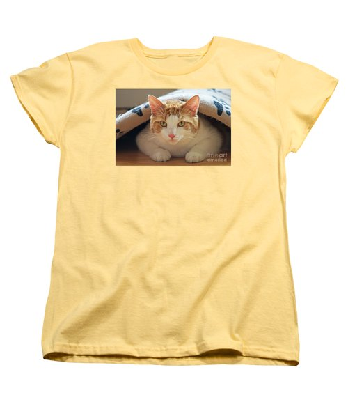 Women's T-Shirt (Standard Cut) featuring the photograph Delectable Companion.. by Nina Stavlund