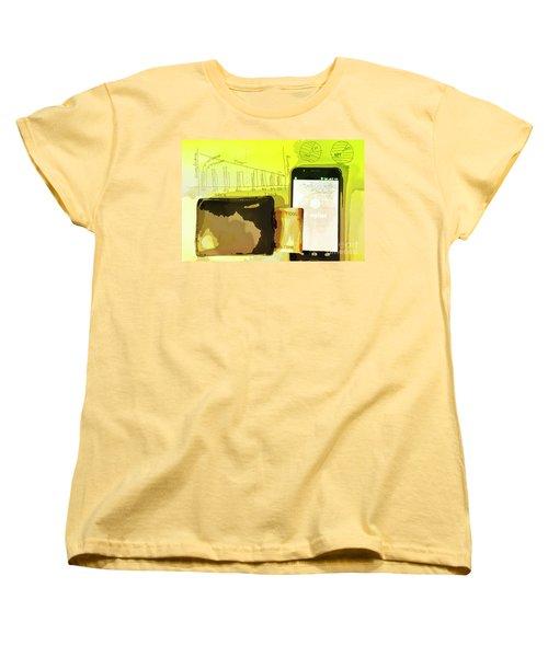 Digitalization Women's T-Shirt (Standard Cut) by Kiran Joshi